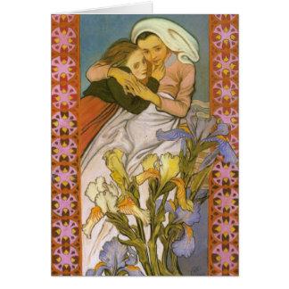 Wyspianski, Caritas (Love), 1904 Card