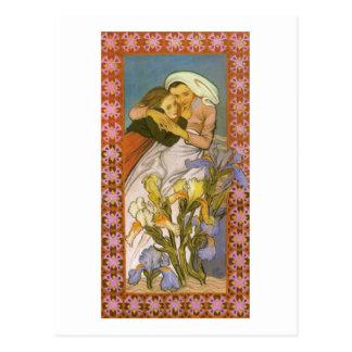 Wyspianski, Caritas (Love), 1904 Postcard