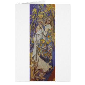 Wyspianski, Caritas (Madonna and Child), 1904 (1) Card
