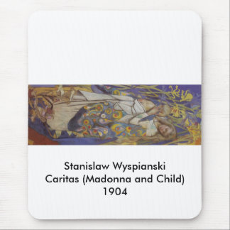 Wyspianski, Caritas (Madonna and Child), 1904 (1) Mouse Pad