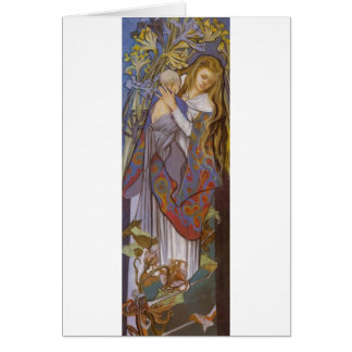 Wyspianski, Caritas (Madonna and Child), 1904 (2) Card