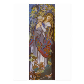 Wyspianski, Caritas (Madonna and Child), 1904 (2) Postcard