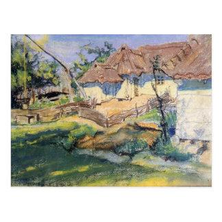 Wyspianski, choza en Grebow, 1900 (1) Postales