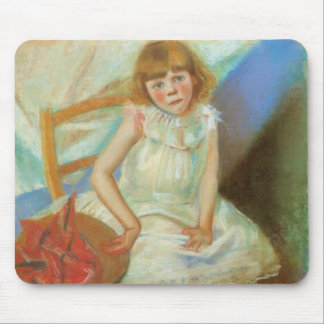 Wyspianski, Girl with a Red Hat, 1893 Mouse Pad