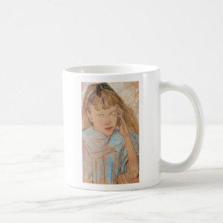 Wyspianski, Girl With Blue Eyes, 1895 Coffee Mug