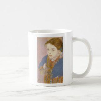 Wyspianski, Helenka in Folk Costume, 1901 Classic White Coffee Mug