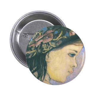 Wyspianski, Helenka - The Artist's Daughter, 1904 Buttons