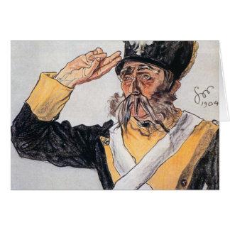 Wyspianski Ludwik Solski as a Veteran 1904 Cards