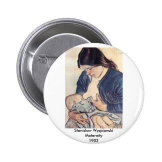 Wyspianski, Maternity, 1902 2 Inch Round Button