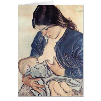 Wyspianski Maternity 1902 Greeting Cards
