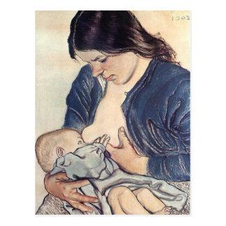 Wyspianski Maternity 1902 Postcard