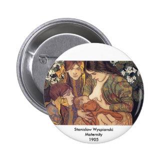 Wyspianski, Maternity, 1905 2 Inch Round Button