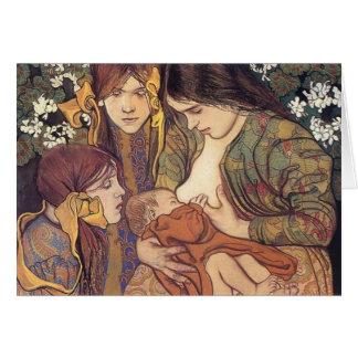 Wyspianski, Maternity, 1905 Card