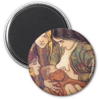 Wyspianski, Maternity, 1905 Imán Redondo 5 Cm