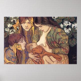 Wyspianski, Maternity, 1905 Poster