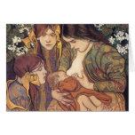 Wyspianski, Maternity, 1905 Tarjeta