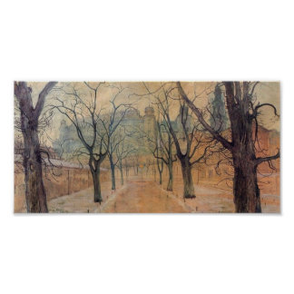 Wyspianski, Planty Park at Dawn, 1894 Poster