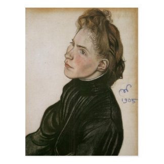 Wyspianski, Portrait of Helena Propper-Bornet 1900 Postcard