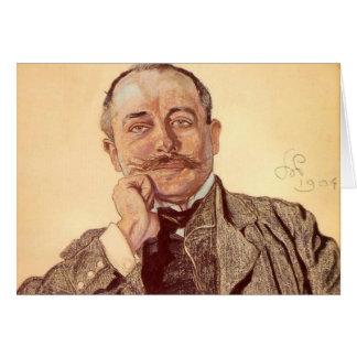 Wyspianski, Portrait of Julian Nowak, 1904 Card
