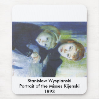 Wyspianski, Portrait of the Misses Kijenski, 1893 Mouse Pad
