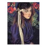 Wyspianski, retrato de Eliza Parenska, 1905 Tarjeta Postal