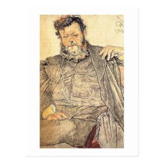 Wyspianski, retrato de enero Stanislawski, 1904 Tarjeta Postal