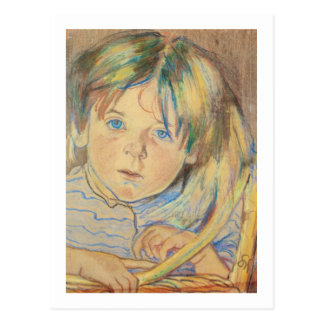 Wyspianski, retrato de Mietek, 1900 Tarjetas Postales