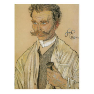 Wyspianski, retrato de un doctor, 1904 tarjeta postal