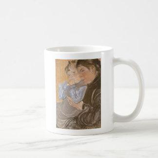 Wyspianski, The Artist's Wife and their Son, 1904 Coffee Mug