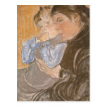 Wyspianski, The Artist's Wife and their Son, 1904 Postcard
