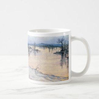 Wyspianski, The Vistula near Cracow, 1905 Classic White Coffee Mug