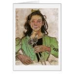 Wyspianski, Vanitas, 1895 Greeting Card