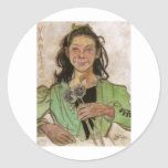 Wyspianski, Vanitas, 1895 Sticker