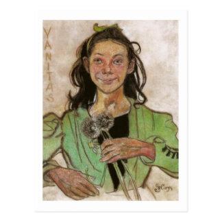 Wyspianski, Vanitas, 1895 Postal
