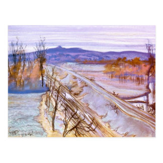 Wyspianski, View of Kosciuszko Mound, 1904 Postcard
