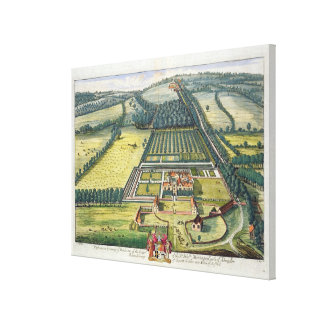 Wytham in the county of Berkshire engraved by Joha Canvas Print