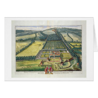 Wytham in the county of Berkshire engraved by Joha Greeting Card