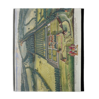 Wytham in the county of Berkshire engraved by Joha iPad Folio Cases
