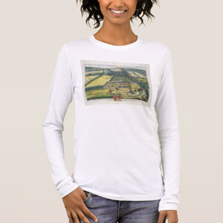 Wytham in the county of Berkshire engraved by Joha Long Sleeve T-Shirt