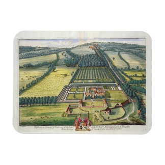 Wytham in the county of Berkshire engraved by Joha Magnet