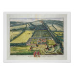 Wytham in the county of Berkshire engraved by Joha Print
