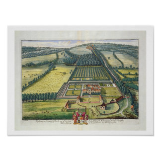 Wytham in the county of Berkshire engraved by Joha Poster