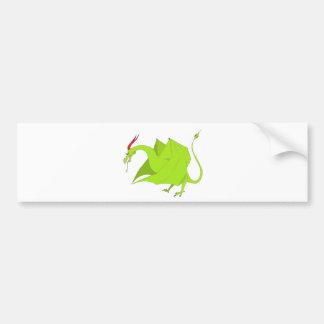 Wyvern Bumper Sticker