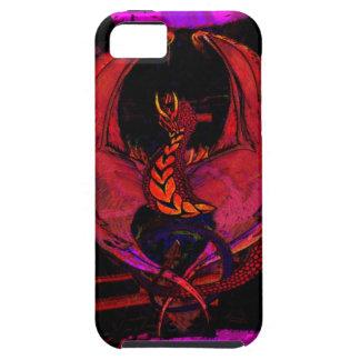 Wyvern de Firedrake, criatura mítica del dragón de iPhone 5 Case-Mate Carcasa