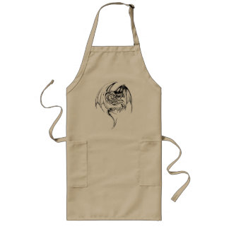 Wyvern Dragon Are Fantasy Mythical Creatures Aprons