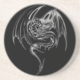 Wyvern Dragon Are Fantasy Mythical Creatures Drink Coaster