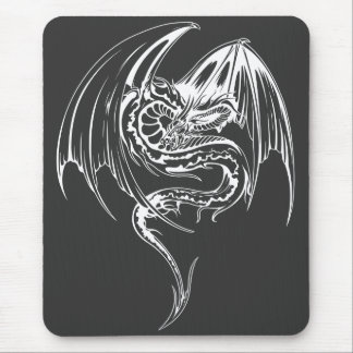 Wyvern Dragon Are Fantasy Mythical Creatures Mousepad