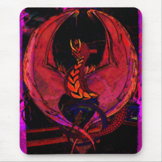 Wyvern,Dragon, Fantasy Dragon, Mythical Creature Mouse Pad