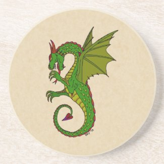 Wyvern Drink Coaster