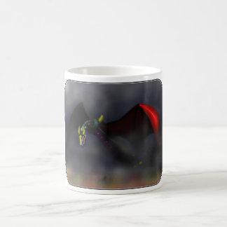 Wyvern Flight (colour) Coffee Mug